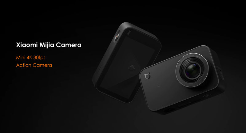 Xiaomi Mijia Camera 4K Action