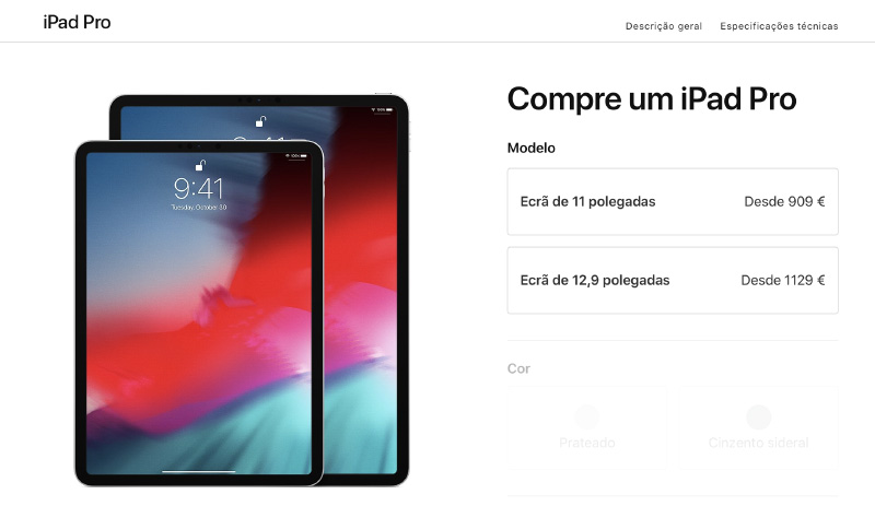 Apple iPad Pro iOS 12 tablet
