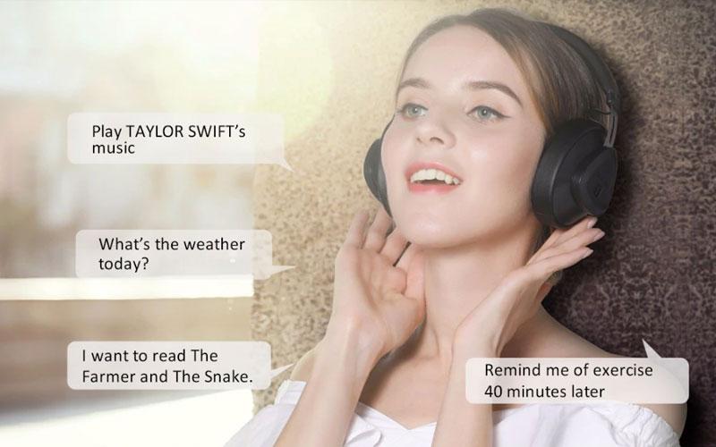 Bluedio TM headphones sem fios
