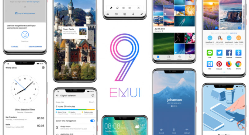 EMUI 9 Android Pie Huawei Google