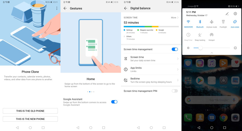 EMUI 9.0 Android Pie 9.0 Huawei Mate 20 Pro