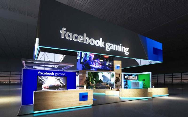 Facebook Gaming fb.gg Twitch gaming streaming solidariedade