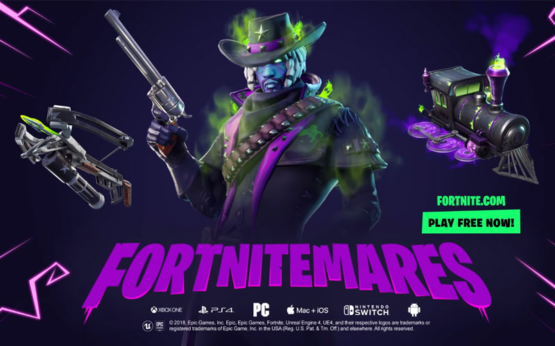 Fortnite Fortnitemares 2018