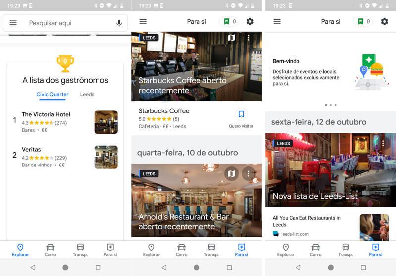 Google Maps: Chegou a nova versão da aplicação Android (download)