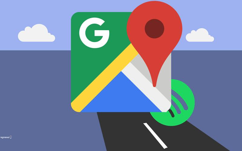 Google Maps adiciona nova possibilidade em conjunto com o Spotify
