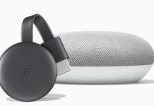 Google Chromecast Google Home mini