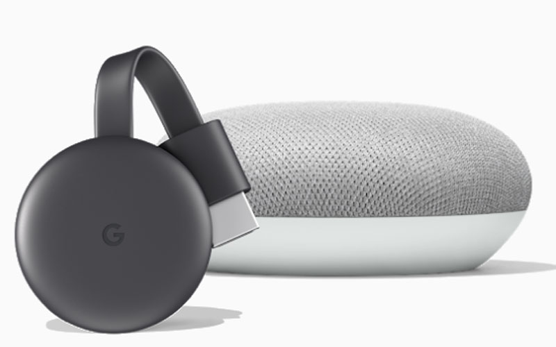 Google Chromecast Google Home mini