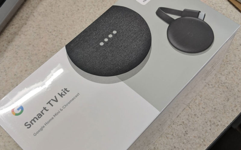 Google Chromecast Home Mini 4gnews