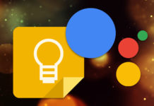 Google Keep Google Assistant