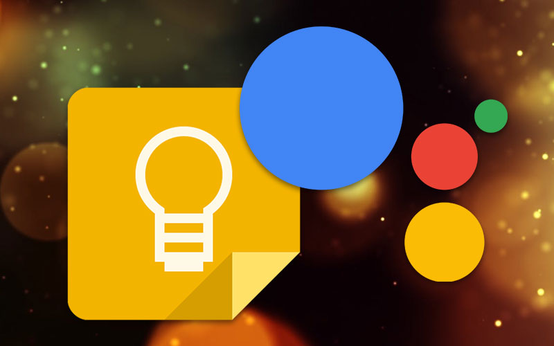 Google Keep Google Assistant