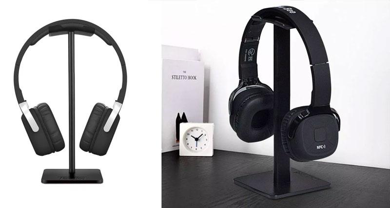 Suporte para headphones sem fios