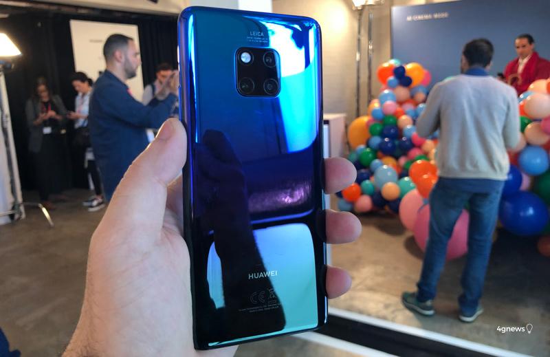 Huawei Mate 20 Pro revelado de forma oficial - Eis o que precisas de saber