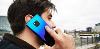 Índia Huawei Mate 20 Pro Android smartphone