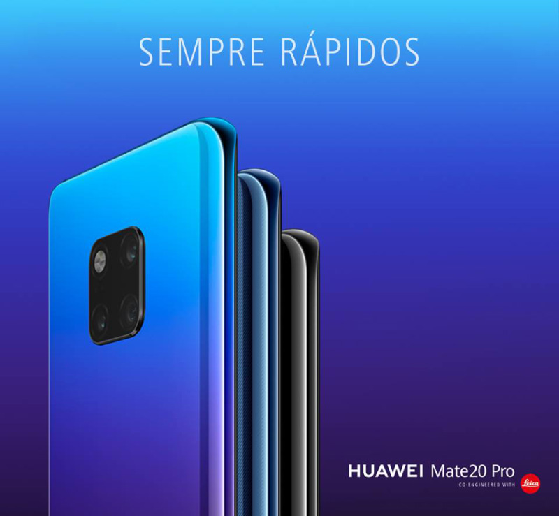 Huawei Mate 20 Pro Apple Samsung