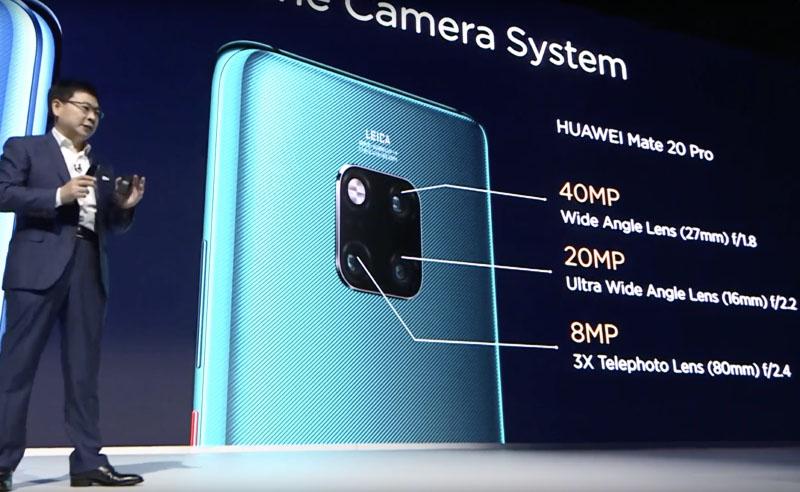 Huawei Mate 20 Pro câmara Android Pie