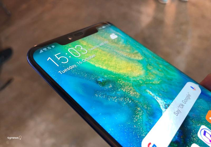 Huawei Mate 20 Pro: Marca reconhece problema no ecrã do smartphone
