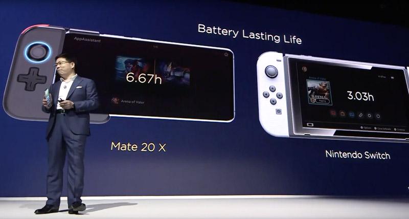 Samsung, Xiaomi e Nintendo. Huawei Mate 20 X specs Androdi Pie