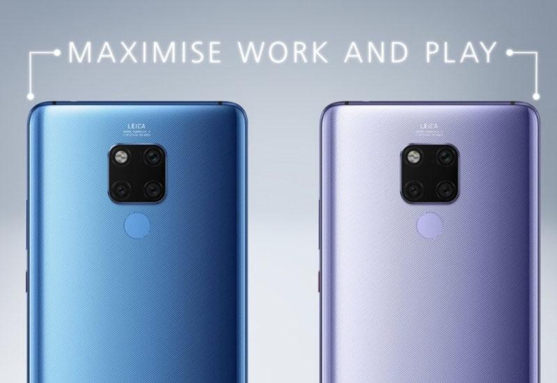 Huawei Mate 20 X cores Samsung Xiaomi Nintendo topo de gama smartphone