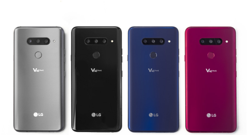 LG V40 ThinQ Android Xiaomi Mi MIX 3
