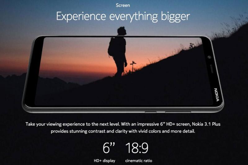 Nokia 3.1 Plus Android One 1