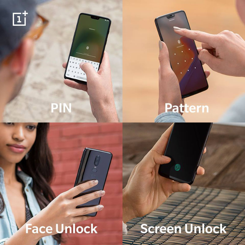 Face Unlock OxygenOS OnePlus 6T Android Pie 9.0 1