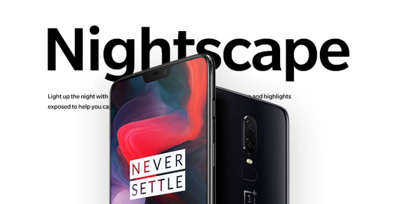 OnePlus 6T Android Pie OxygenOS