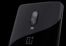 OnePlus 6T Android Pie câmara