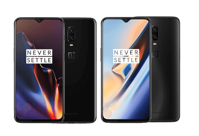 OnePlus 6T Android Pie Mirror Black