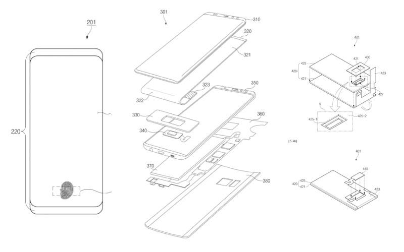 Samsung Galaxy S10 sensor biométrico