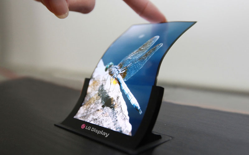 Smartphone Dobrável LG Samsung