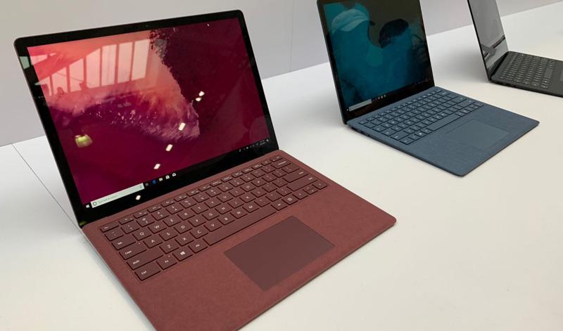 Microsoft Surface Laptop 2 é oficial com os novos processadores da Intel