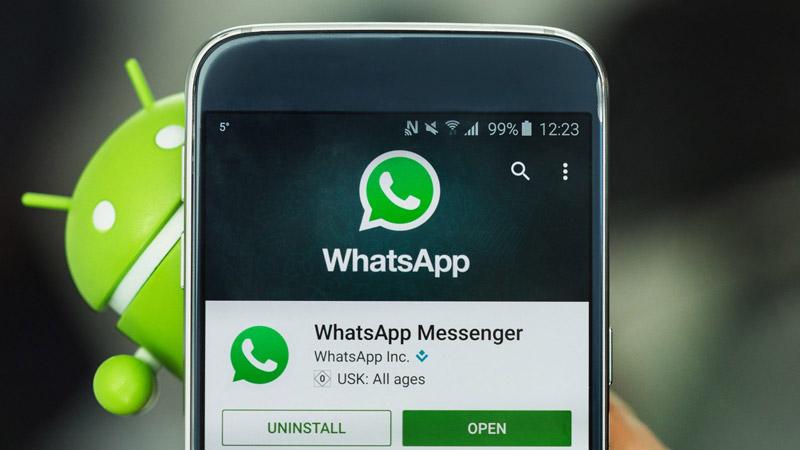 WhatsApp Android aplicação iOS