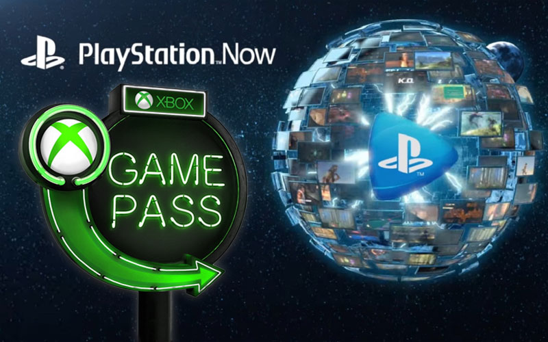 Xbox Game Pass PC PlayStation Now