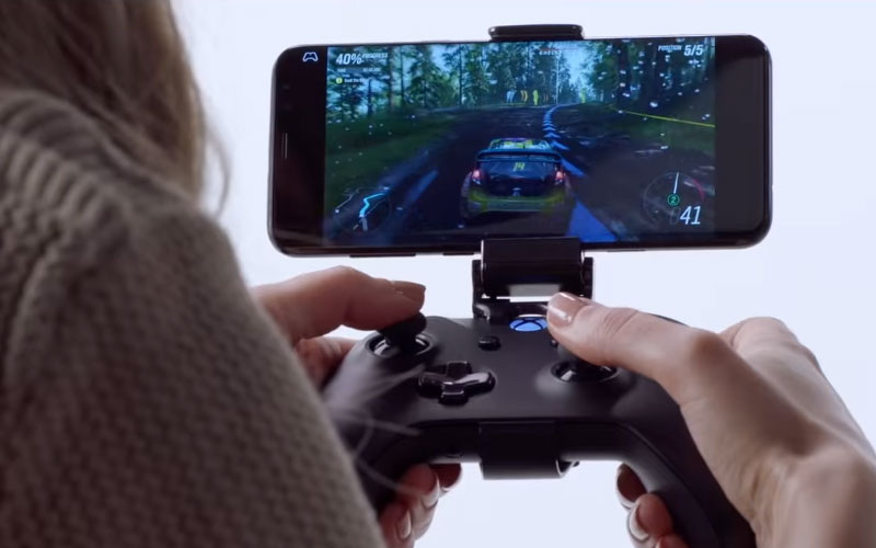 Xbox Microsoft Smartphone Project xCloud streaming