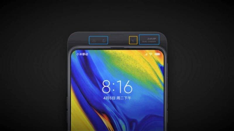Xiaomi Mi MIX 3 Android Pie smartphone