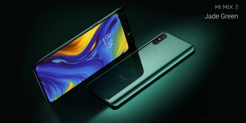 Xiaomi Mi MIX 3 Android Pie smartphone Snapdragon 855