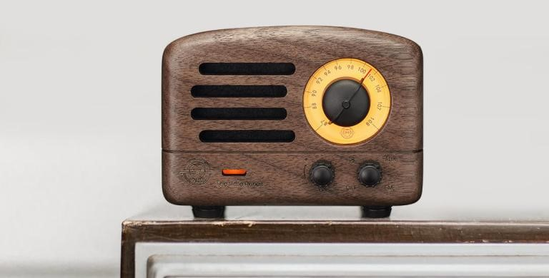 Xiaomi Mijia Elvis OTR Rádio FM coluna altifalante Bluetooth