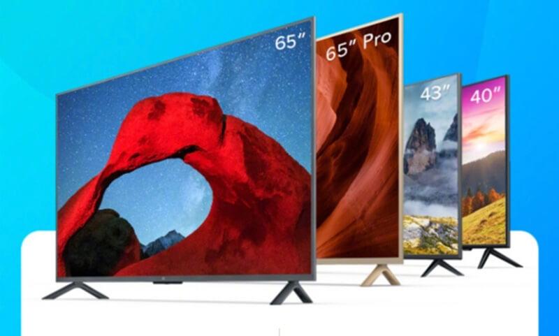 Xiaomi revela 4 novas televisões com um preço inacreditável
