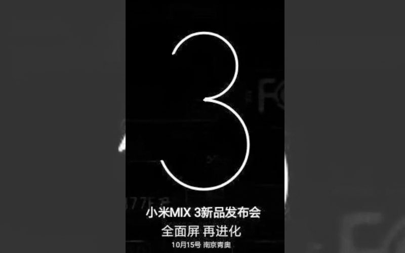 Xiaomi Mi Mix 3 Android 4gnews