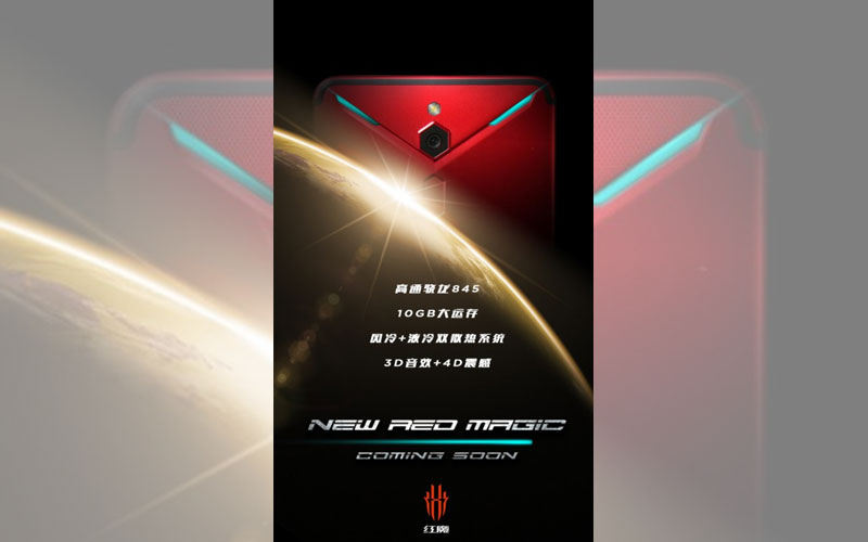 ZTE Nubia Red Magic 2 Black Shark Helo gaming