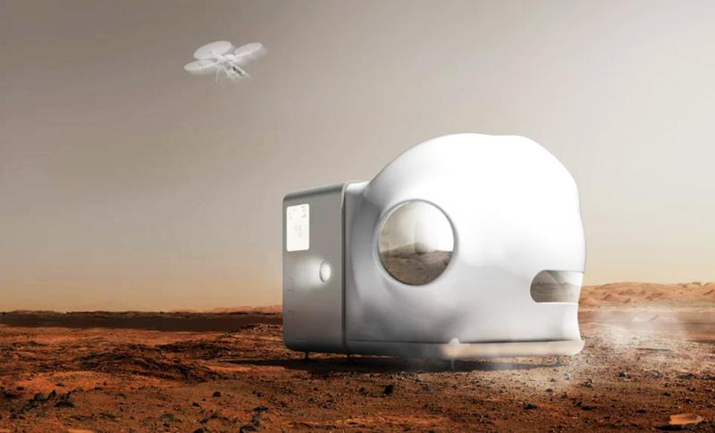 Xiaomi quer ver os seus produtos na primeira casa em Marte