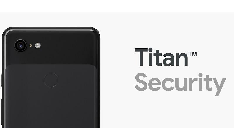 Google Pixel 3 Android Titan M