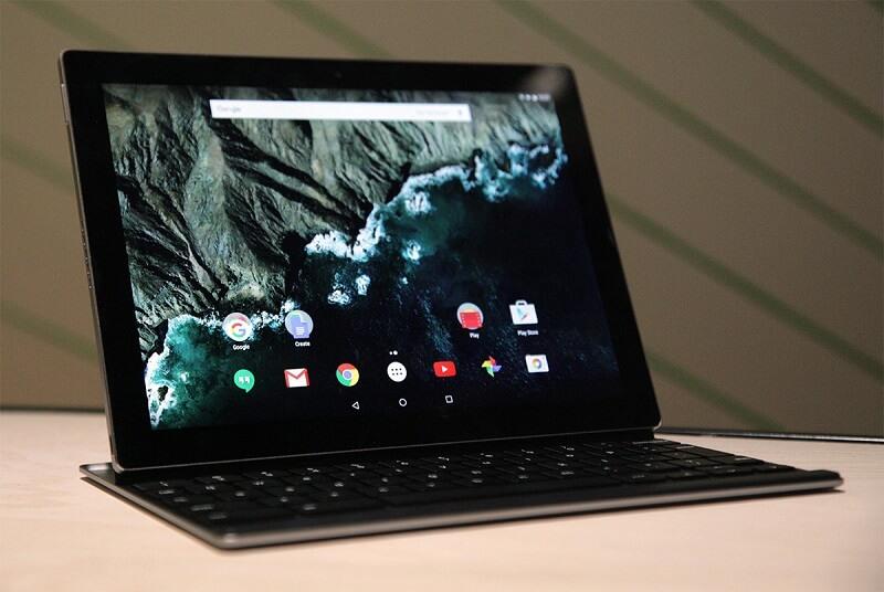Google Chrome OS Windows 10 tablet