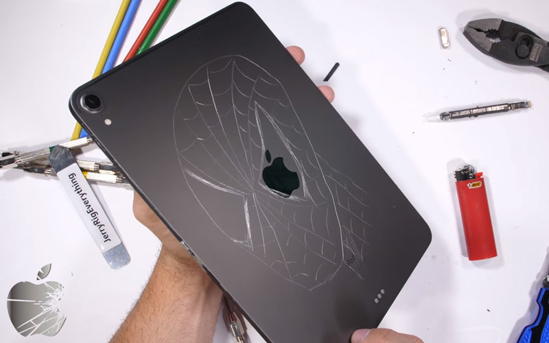 Apple iPad Pro bendtest