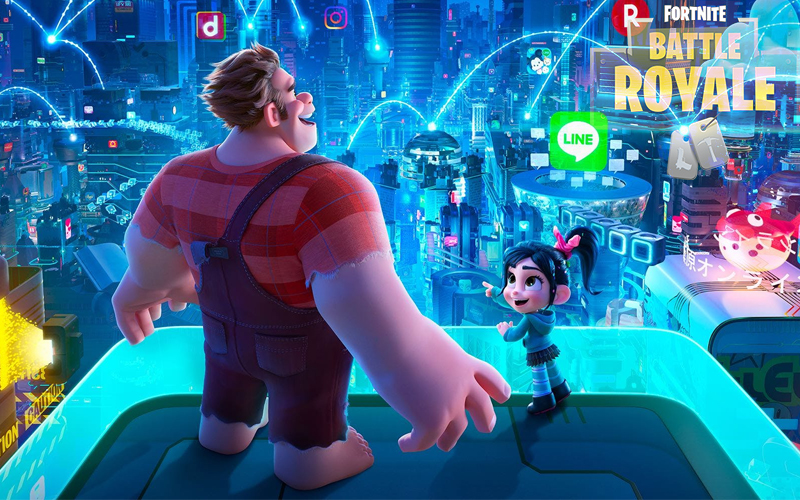 Fortnite Wreck it Ralph Battle Royale