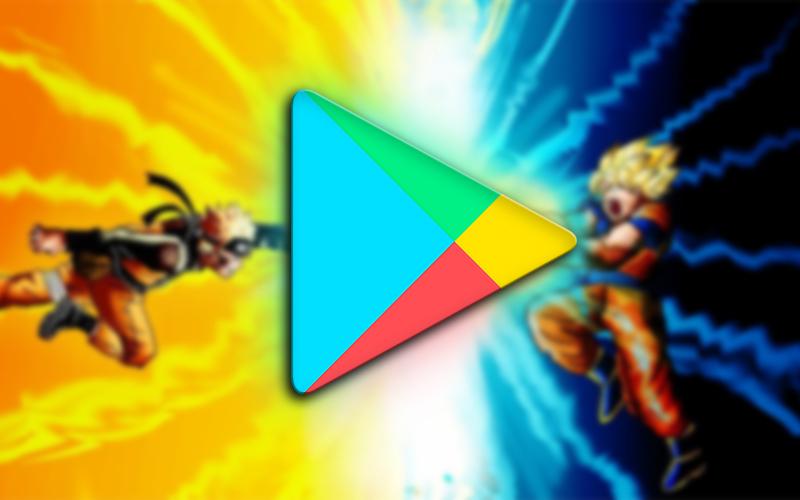 Google Play Store Jogos Anime