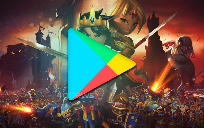Google Play Store Defender a Torre smartphone grátis