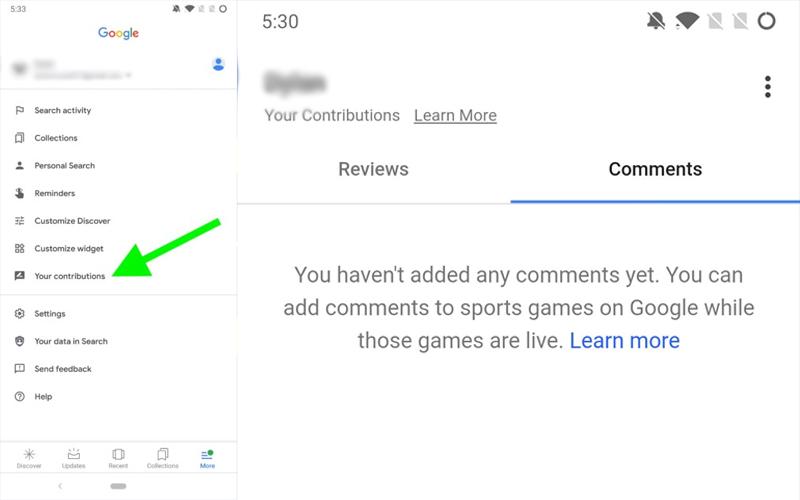 Google Resultados de Pesquisa comentários