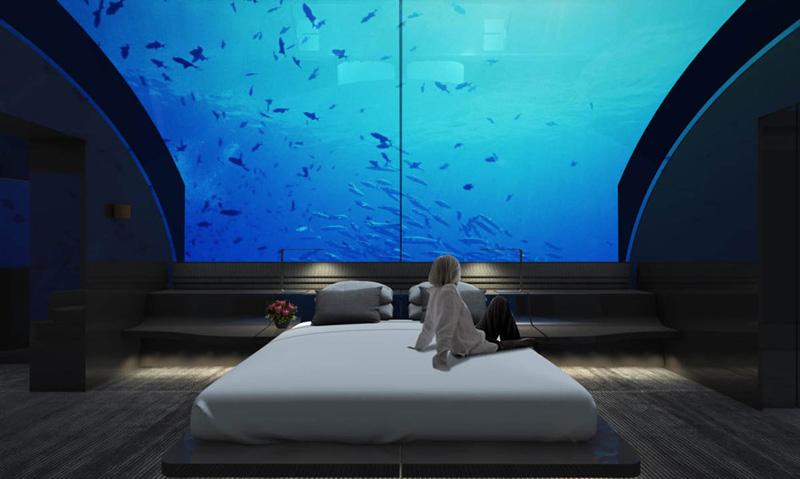 Hotel debaixo do mar nas Maldivas cobrará quase 45 mil euros por noite