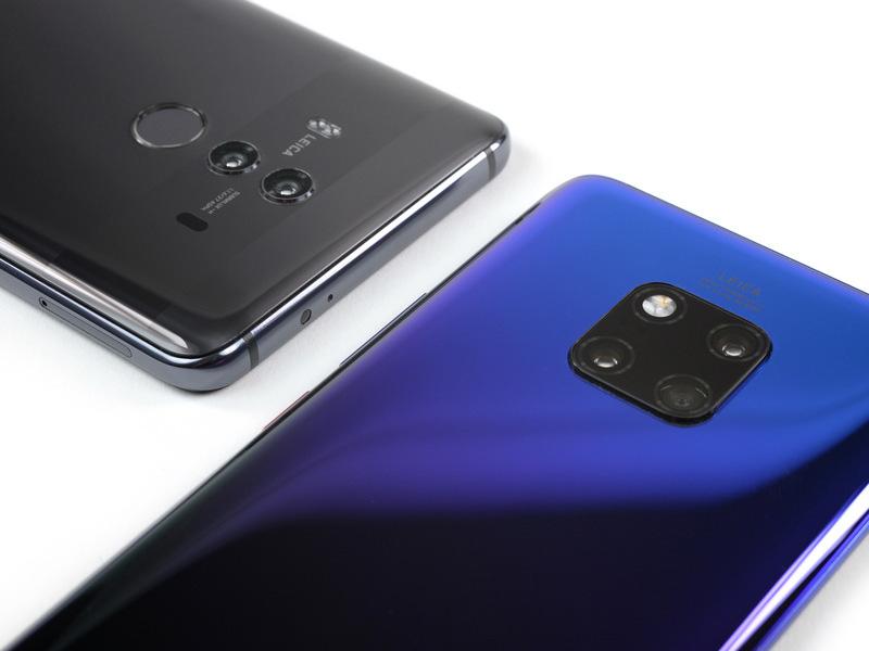 Huawei Apple Samsung Xiaomi smartphones